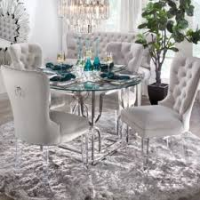 z gallerie dining table z gallerie charlotte chair with lucite legs and abagail silver metal