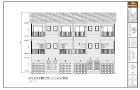 4 Plex Floor Plans San Leandro Multi Family Modular Project