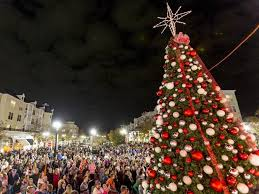 The Annual Tree Lighting Ceremony At The Market Common Market