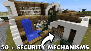 Best House The Best Minecraft House Ever Built 50 Security Mechanisms