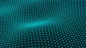 grid pattern alpha grid waves with alpha channel stock footage video 31310167