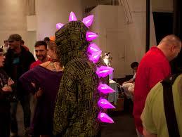 Led Halloween Costume Stegosaurus Dinosaur Costume Spikes Led Halloween Metalnat