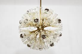 snowball chandelier by emil stejnar for robert nikoll 1950 for