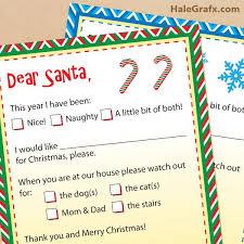 739 best santa letters images on pinterest free printable santa