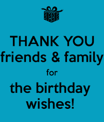how to say thank you for birthday wishes on thank you