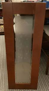 ikea frosted glass kitchen cabinets ikea adel frosted glass door medium brown for akurum kitchen cabinet 15 x 39