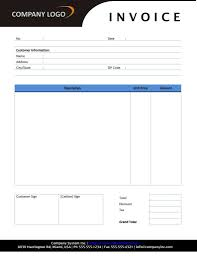 free templates for invoices printable and rental invoice template