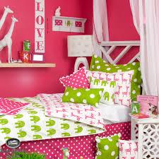 kid pink lime green giraffe elephant twin full queen duvet