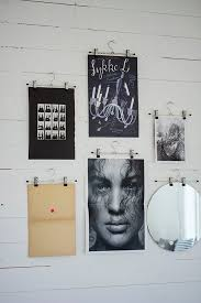 hang poster without frame wellsuited hanging posters without frames 5 alternatives for art