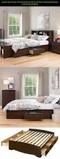 White Twin Bookcase Headboard by Bed Frames Espresso King Storage Bed Twin Platform Bed Storage