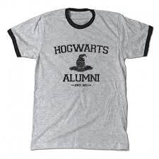 alumni tshirt hogwarts alumni ringer t shirt berry