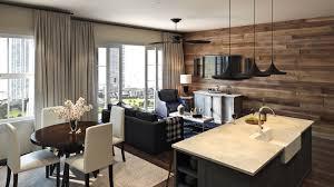 kitchen and livingroom 3d render for nashville project archicgi