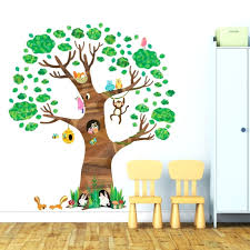 Animal Wall Decals For Nursery Jungle Book Wall Decals Nursery Tree Wall Stickers Animal Wall In