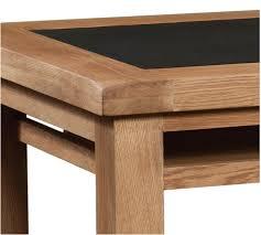 Oak Office Desks Mill Oak Office Desk Quality Oak Furniture From The Furniture