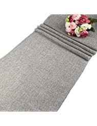 grey table runner wedding amazon com grey table runners kitchen table linens home