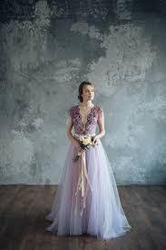 brautkleid lila lila brautkleid gelassenheit librightweddingdress auf etsy