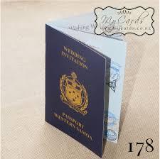 wedding invitations auckland a6 passport samoa wedding invitation design 178 mycards auckland