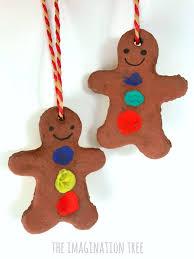 finger print gingerbread ornaments the imagination tree