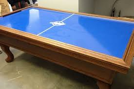air hockey table over pool table everything you need to know about air hockey airhockeyplace com