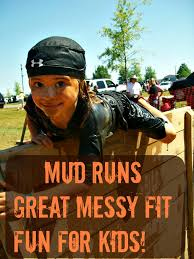 Mud Run Meme - getting down and dirty for charity mud runs with children