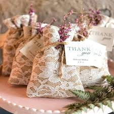 wedding favors unlimited wedding favors for guests burlap and lace wedding favor bags