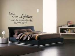 Wall Decal Quotes For Bedroom by Wall Art Quotes For Bedrooms Wallartideas Info
