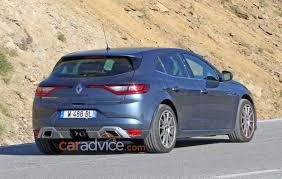 renault sport rs 01 blue 2018 renault megane rs spied testing photos 1 of 11