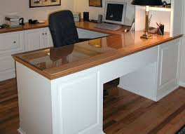 Custom Desks For Home Office Custom U Shaped Desk For Home Office Home Interiors
