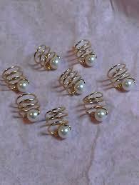 hair spirals handmade hair spirals x 8 alternative wedding bridal tiara
