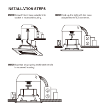 how to install retrofit recessed lighting recessed light charming installing led recessed lighting as well
