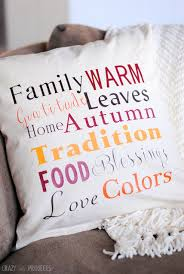 Fall Decorative Pillows - thanksgiving u0026 christmas throw pillows crazy little projects