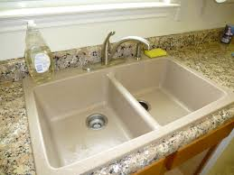 Swanstone Kitchen Sink Reviews by Ideas Impressive Granite Kitchen Sinks For Affordable Home