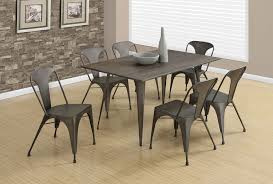 steel dining room chairs marvellous metal dining room tables xvl home collection arles