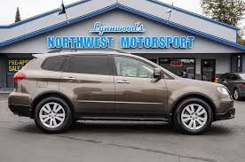 subaru tribeca black 2008 subaru tribeca limited awd northwest motorsport
