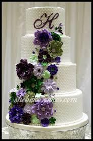 flowers and rosette wedding cake lexington ky she bakes cakes llc