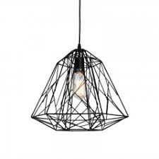Caged Pendant Light Industrial Style Cage Pendant Light Yiilighting Com