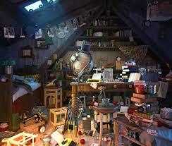 simon telezhkin bedroom scene with items for hidden object game