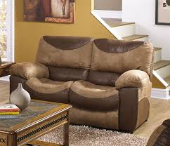Sofas And Loveseats Sets by Portman 2 Piece Reclining Sofa Reclining Loveseat Set In Two Tone