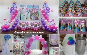 sofia the birthday party sofia the cebu balloons and party supplies