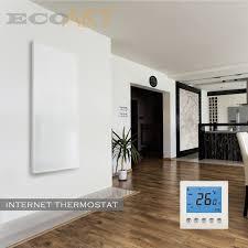 chauffage chambre 720 w ecoart chauffage radiateur infrarouge chauffe panneau pour