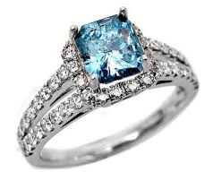 blue wedding rings blue diamond engagement rings will be attractive for your