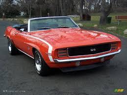 1969 hugger orange chevrolet camaro rs ss convertible 62434258