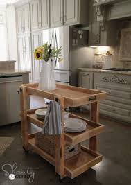 shabby chic kitchen island kitchen luxury small portable kitchen island with black tone and