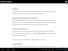 forget your laptop you can word process on your android tablet
