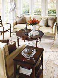 Henredon Coffee Table by Round Cocktail Table 7901 40 Henredon Occasional Tables From