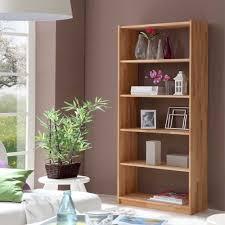 eckregal nussbaumfarben rustikale massivholzregale versandkostenfrei frei haus wohnen de