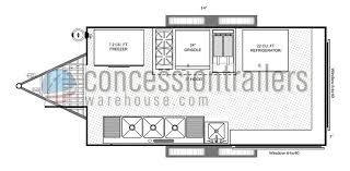 pizza shop floor plan concession trailer floor plans concession trailer layout