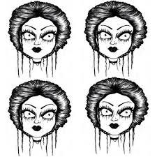 how to draw gothic comics like tim burton