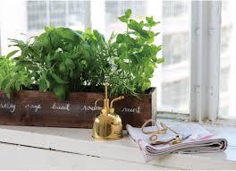 Window Sill Herb Garden Designs How To Grow A Windowsill Herb Garden