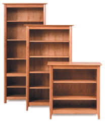 handmade american fine wood bookcases bookcase systems wall